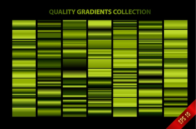 現代的な品質のグラデーションコレクション