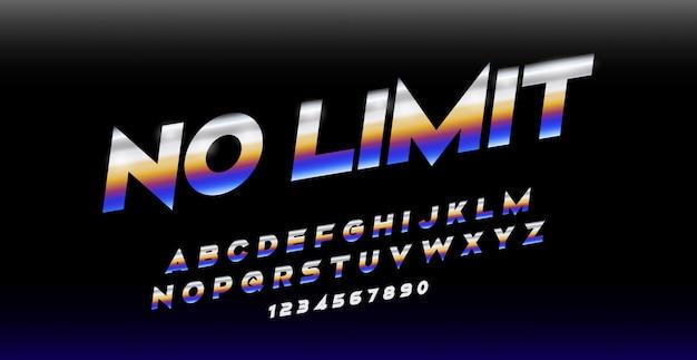 Спорт современный курсив алфавит шрифт. типография шрифты городского стиля