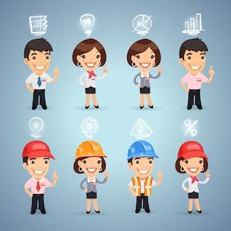 Менеджеры с набором иконок