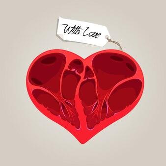 Валентина анатомия сердца