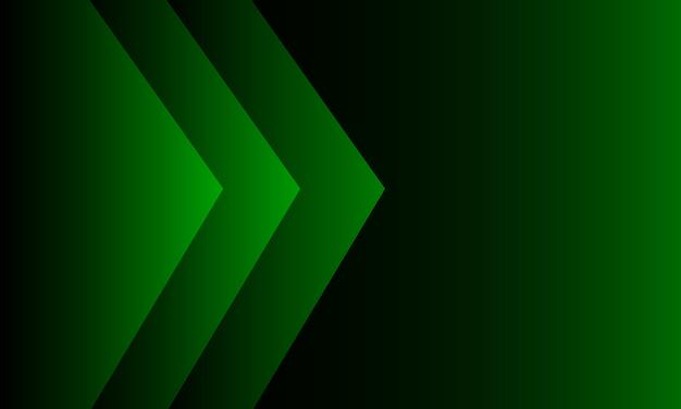 緑のグラデーションの背景。モダンスタイル