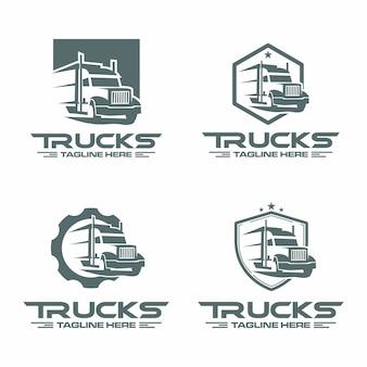 Логотип грузовика