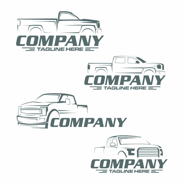 Логотип пикапа