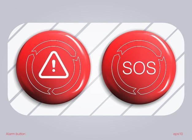 Набор глянцевых кнопок продажи или значки.