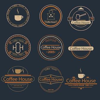 Ретро винтаж логотип