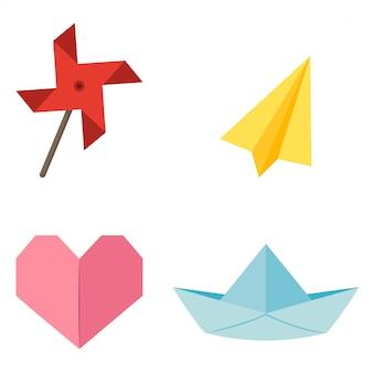 折り紙風車
