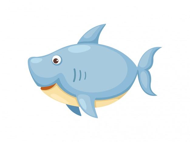 Акула вектор