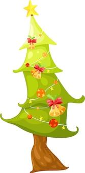 Рождественская елка векторная иллюстрация