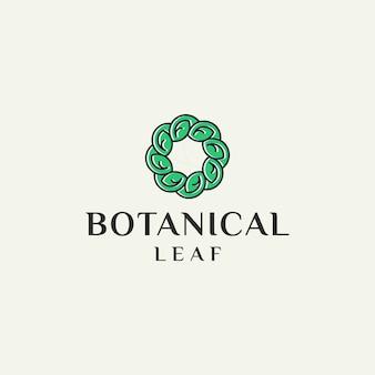 Уникальный логотип экологии