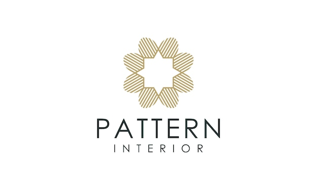 Роскошный логотип интерьер