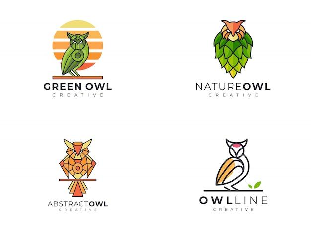 Уникальный креативный шаблон логотипа