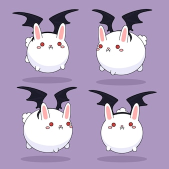 吸血鬼のウサギ