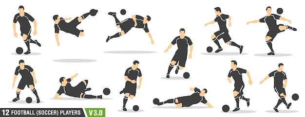 サッカー、サッカー選手