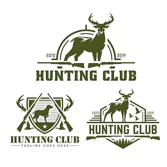 狩猟ロゴパック集
