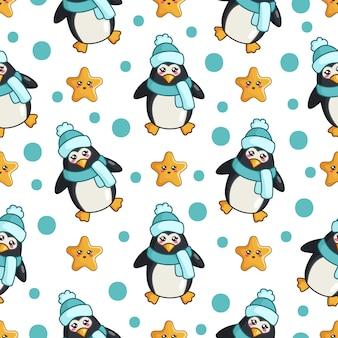 Пингвин узор