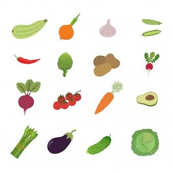 イラストセット野菜