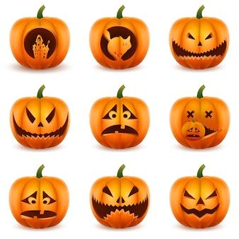 ハロウィンかぼちゃセット