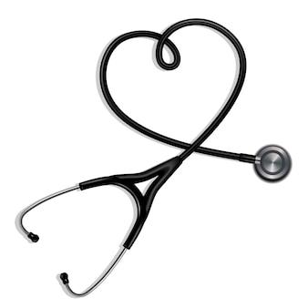 Стетоскоп в форме сердца