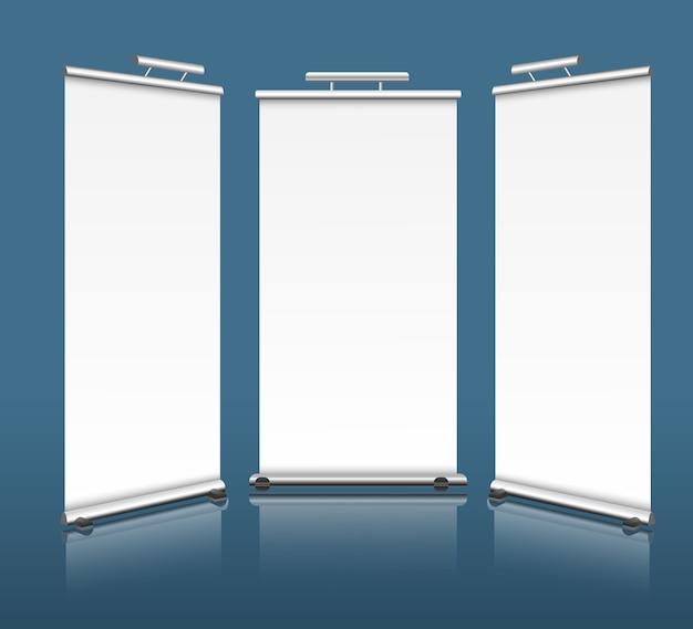 Вертикальные баннеры