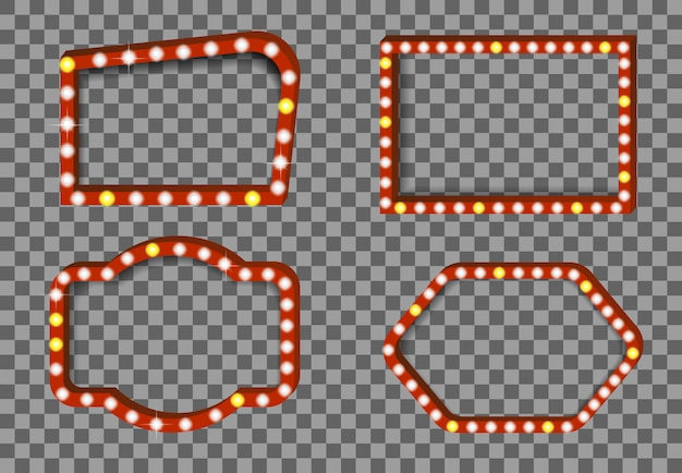 Кино реалистичное освещение карты фоновой иллюстрации