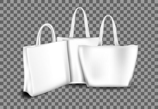 Коллекция реалистичных сумок