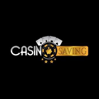 Дизайн логотипа казино