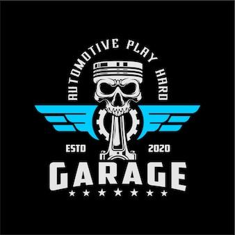 Череп гараж
