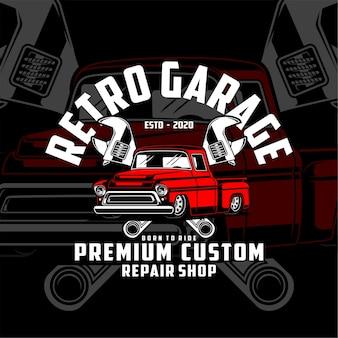 Ретро гараж