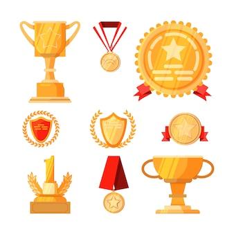 Набор наград за первое место