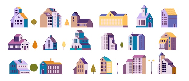 集合住宅のセット