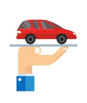 車両の所有者が損害を受けた場合に保険を使用して保護する
