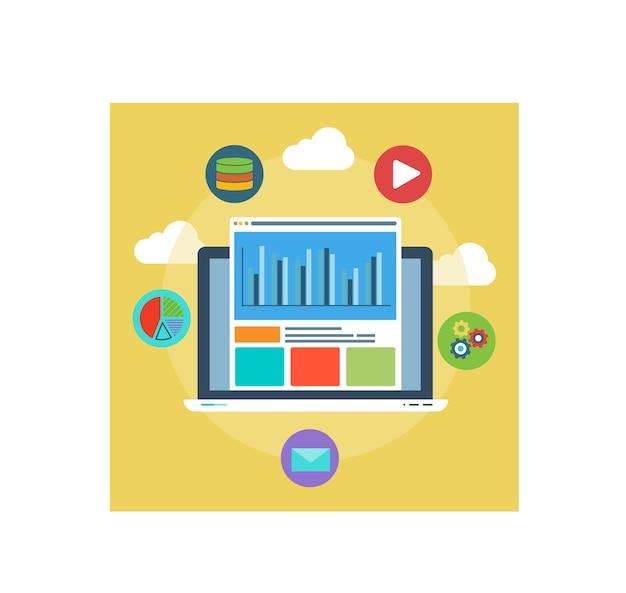 ウェブ解析の設計と最適化の業績