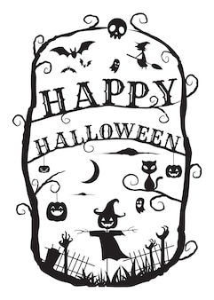 Искусство кадра хэллоуина: пугало