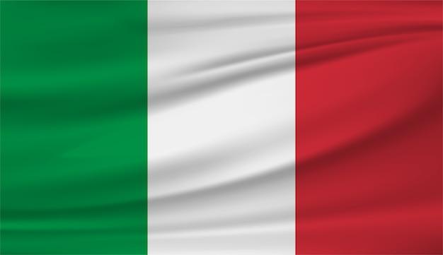 Национальный флаг италии