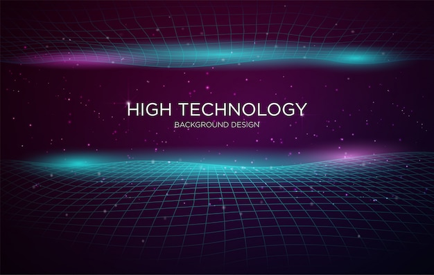 Шаблон для технологии высоких технологий