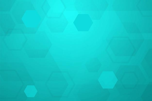 六角形の抽象的な背景