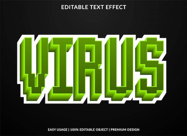 Текстовый эффект пикселей