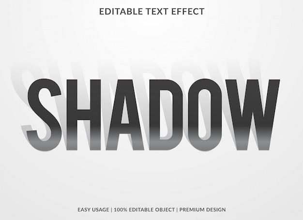 Эффект теневого текста