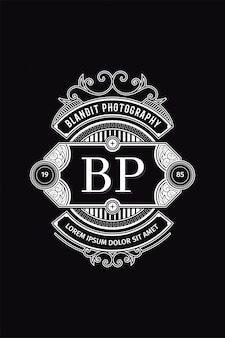 Монограмма логотип фотография бп