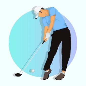 ゴルフプレーヤー