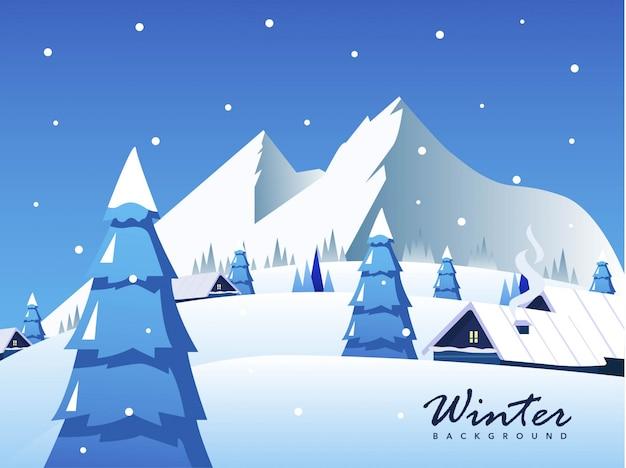 Зимняя лыжная статуэтка