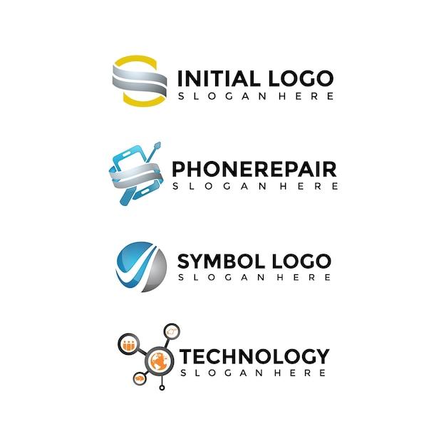 Современные шаблоны шаблонов логотипов