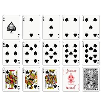 ポーカートランプデザイン
