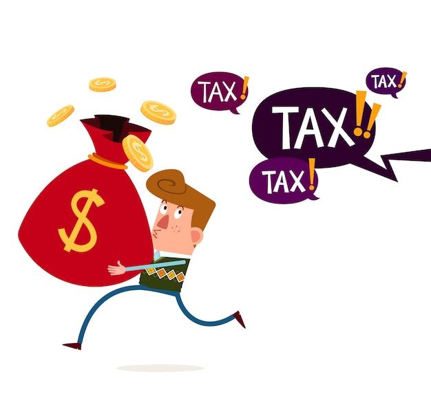 税金および財政的脅威