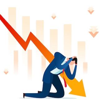 ビジネス失敗のストレス