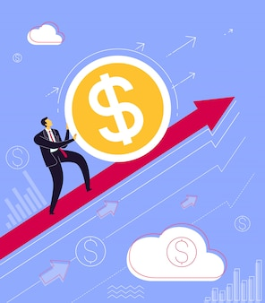 ビジネスの成功へのステップ