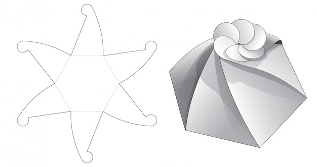 Вырезанный дизайн шаблона