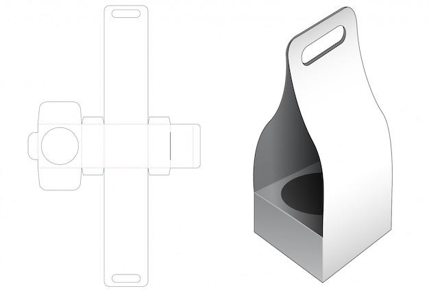ハンドルダイカットテンプレートを使用したパッケージング
