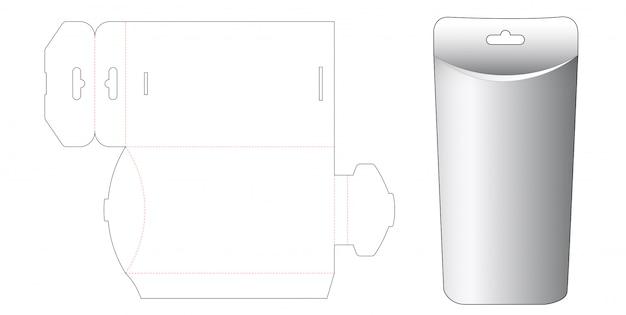 ハングホールダイカットテンプレートデザインの枕箱