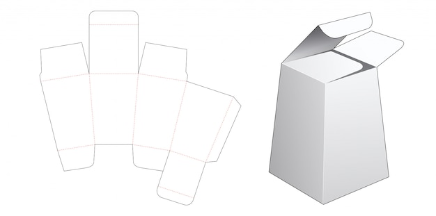Подарочная коробка в форме обелиска